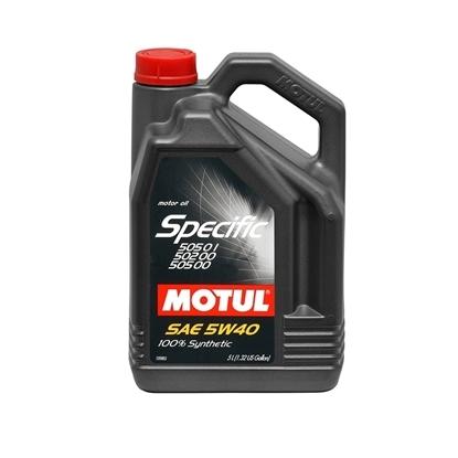 Picture of Motul Specific VW 505.01,505.00,502.00 5W-40