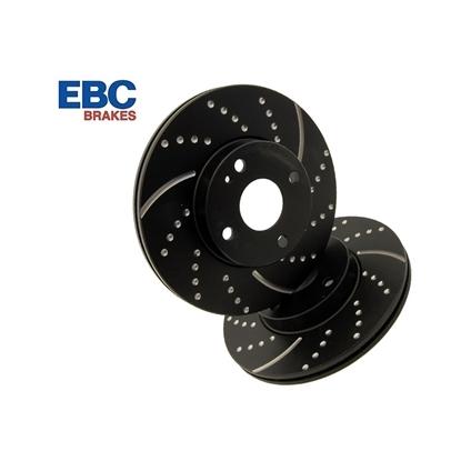 Снимка на EBC Turbo Grooved спирачни дискове