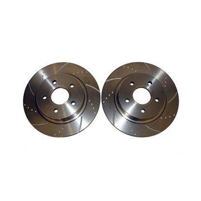 Picture of Ferodo перфорирани и нарязани дискове